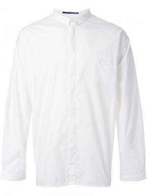 Классическая рубашка Isabel Benenato. Цвет: белый