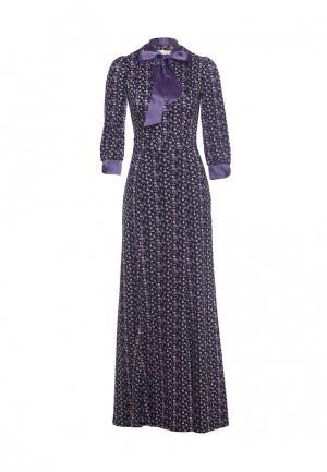 Платье Olivegrey. Цвет: фиолетовый