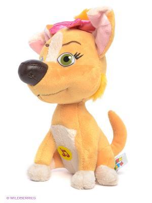 Мягкая игрушка Собачка Дина Мульти-пульти. Цвет: желтый, молочный