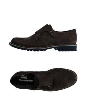 Мокасины SAMSONITE FOOTWEAR. Цвет: стальной серый