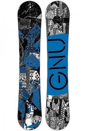Сноуборд  16 Crbn Crdt 159 Btx Blu GNU. Цвет: мультиколор