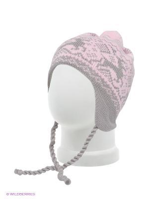 Шапка Scandica. Цвет: розовый, серый