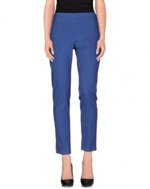 Повседневные брюки CLUB VOLTAIRE. Цвет: синий