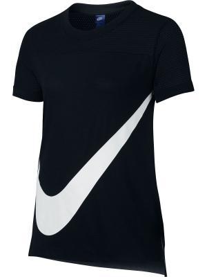 Футболка G NSW TOP SS PREP GFX Nike. Цвет: черный