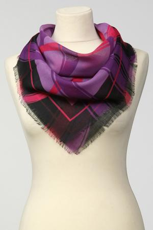 Платок Frantelli. Цвет: лиловый, фиолетовый, розовый