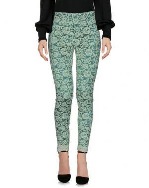 Повседневные брюки LAFTY LIE. Цвет: светло-зеленый