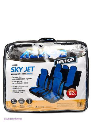 Чехлы универсальные Sky Jet AZARD. Цвет: синий