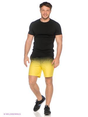 Шорты DOCTOR E. Цвет: желтый, черный