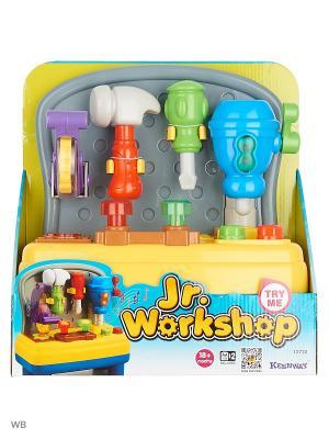 Игровой набор Мастерская для малышей (свет звук) Keenway. Цвет: желтый