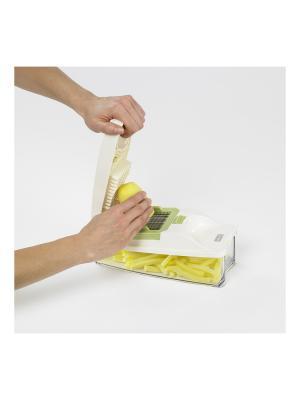 Компактный слайсер Lurch. Цвет: белый, салатовый