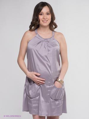 Сарафан Мамуля красотуля. Цвет: светло-серый