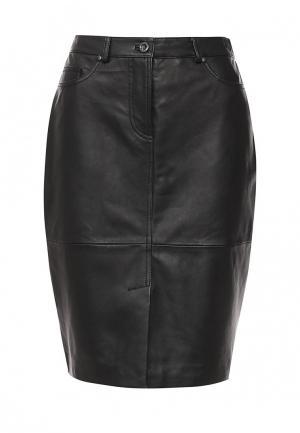 Юбка Trussardi Jeans. Цвет: черный