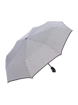 Зонт складной NUAGES. Цвет: белый, серый, черный