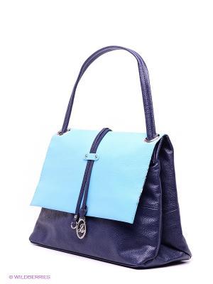 Сумка Jane Shilton. Цвет: темно-синий, голубой