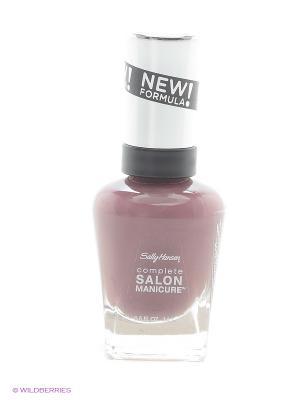 Лак для ногтей Salon Manicure Keratin, тон plums the word #360 SALLY HANSEN. Цвет: светло-коричневый