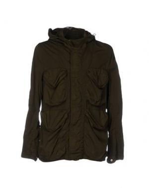 Куртка NEMEN. Цвет: зеленый-милитари