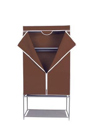 Гардероб для хранения одежды Miolla. Цвет: коричневый