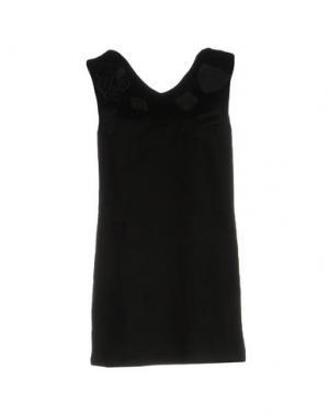 Короткое платье GAëLLE. Цвет: черный