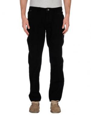 Повседневные брюки TIMEOUT. Цвет: черный
