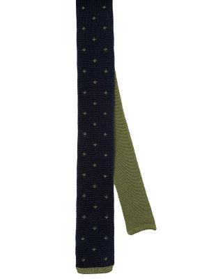 Галстук MONDIGO. Цвет: темно-синий, зеленый, хаки