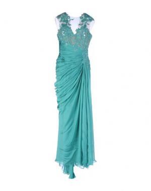 Длинное платье ZUHAIR MURAD. Цвет: зеленый