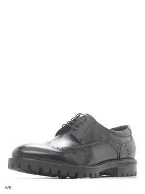 Туфли Hortos. Цвет: черный