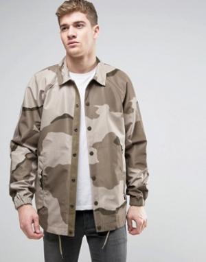 G-Star Спортивная куртка AOP Hedrove. Цвет: зеленый
