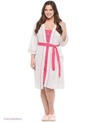 Комплект Vienetta Secret. Цвет: розовый