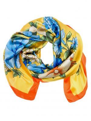 Платок Vita pelle. Цвет: оранжевый, желтый