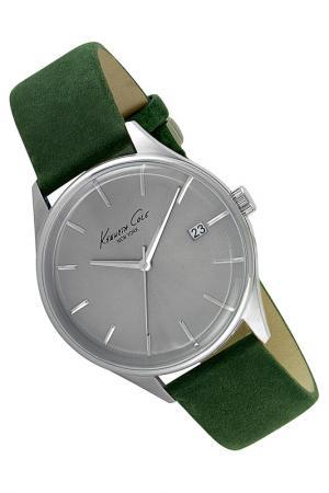 Часы Kenneth Cole New York. Цвет: зеленый