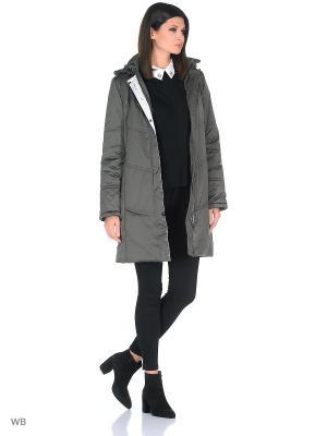 Пальто JATTA Maritta. Цвет: серо-коричневый