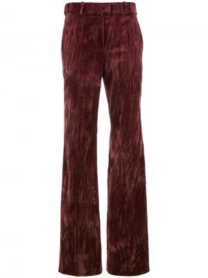 Расклешенные брюки Nina Ricci. Цвет: розовый и фиолетовый