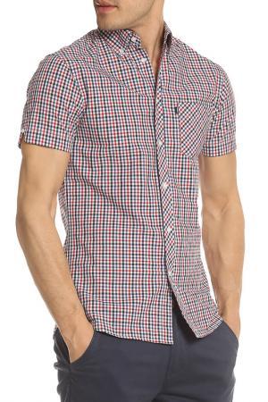 Рубашка LE SHARK. Цвет: красный
