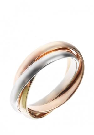 Кольцо Vangold. Цвет: разноцветный