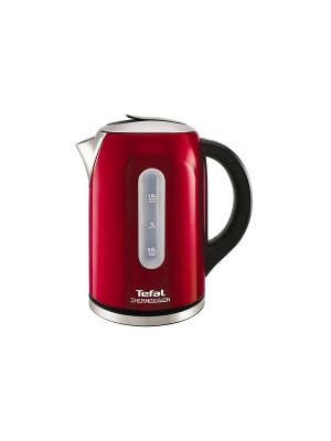 Чайник Tefal KI410530 красный 1.5л. 2400Вт (нержавеющая сталь). Цвет: красный
