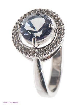 Кольцо Митра Ювелир. Цвет: синий, серебристый, белый