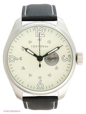 Часы TOKYObay. Цвет: черный