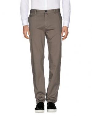 Повседневные брюки ONTOUR. Цвет: свинцово-серый