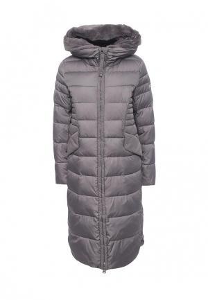 Куртка утепленная Clasna. Цвет: серый