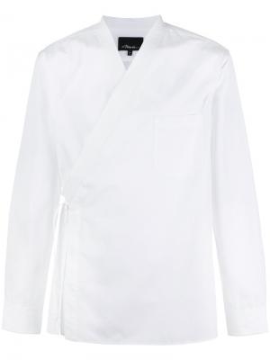 Рубашка-кимоно 3.1 Phillip Lim. Цвет: красный