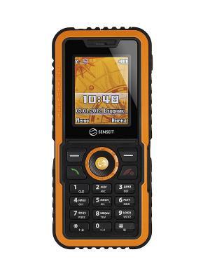Телефон Senseit P7. Цвет: желтый