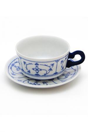 Чашка с блюдцем Blue Touch KAHLA. Цвет: мультиколор