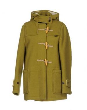 Куртка GLOVERALL. Цвет: светло-зеленый