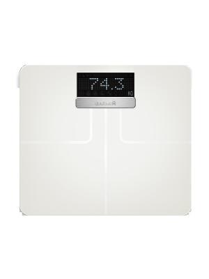 Умные весы Index White GARMIN. Цвет: белый