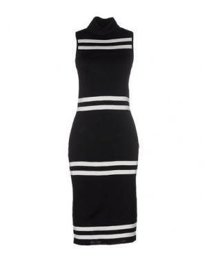 Платье до колена CAMEO. Цвет: черный