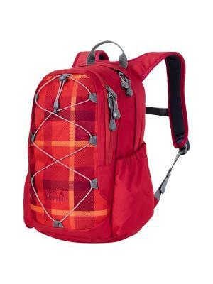 Рюкзак KIDS GRIVLA PACK Jack Wolfskin. Цвет: красный