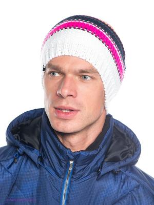 Шапка Icepeak. Цвет: белый, розовый, желтый
