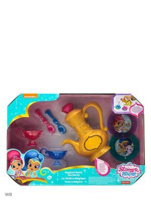 Игровой набор Волшебное чаепитие Mattel. Цвет: синий