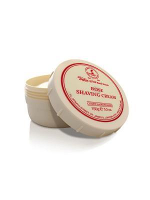 Крем для бритья Rose Shaving Cream Bowl 150гр Taylor of Old Bond Street. Цвет: молочный
