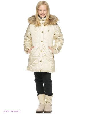 Пальто SAIMA. Цвет: молочный